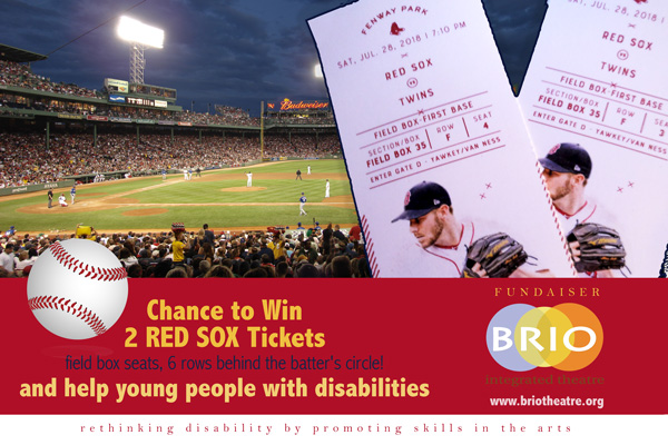 brio raffle for RedSox game tickets